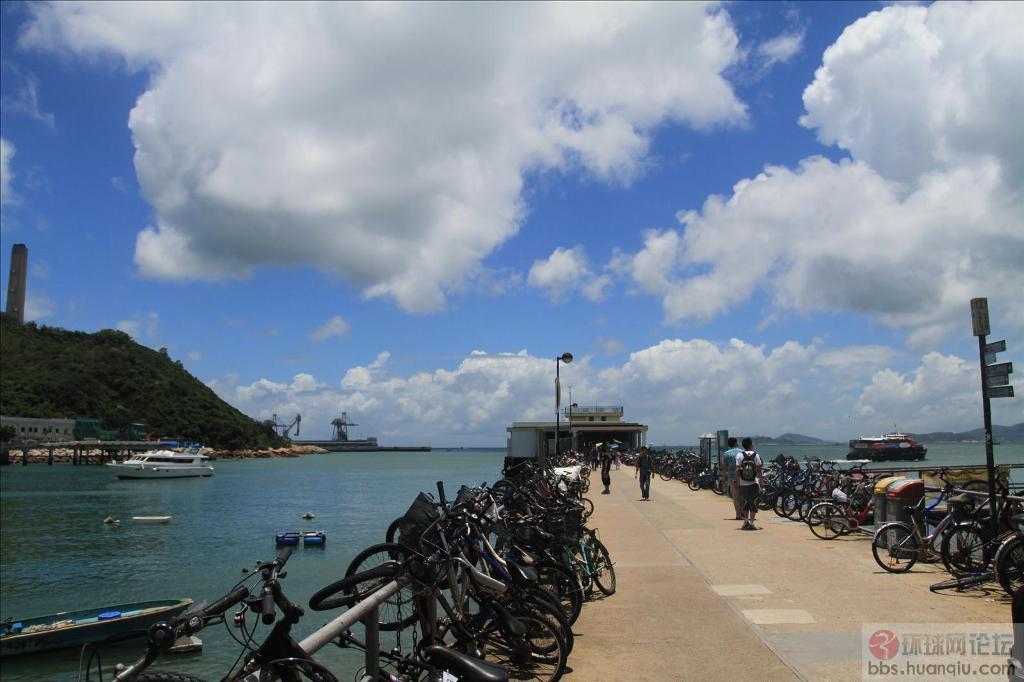香港南丫岛,回归十五周年烟花汇演