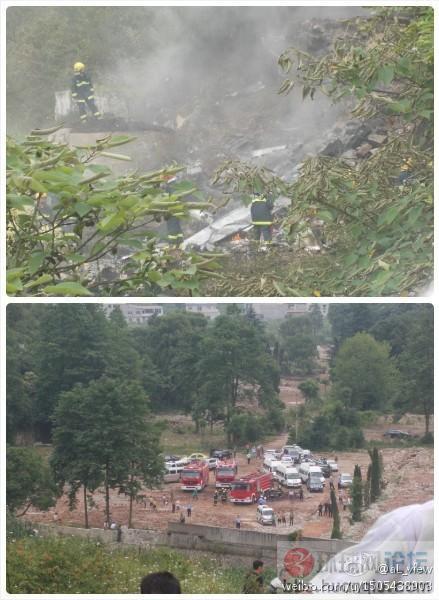 出事了:7月11日中国一架疑似军用飞机坠毁!
