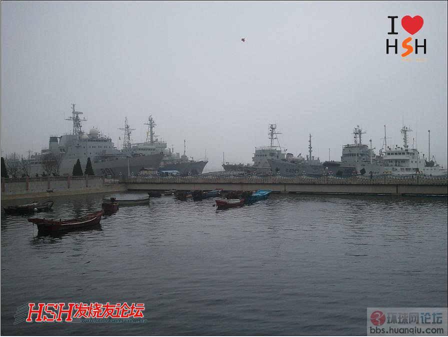 北国有好风光:中国海军891、892试验舰会师