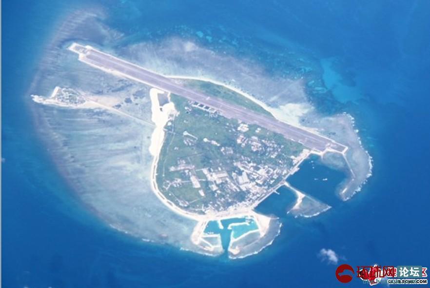 永兴岛成解放军南海支点:机场跑道不断扩建