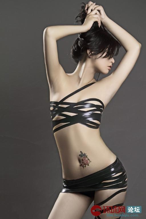 纹身美女 - 天下美女 图片
