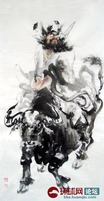 古风女倔强侧脸简笔画