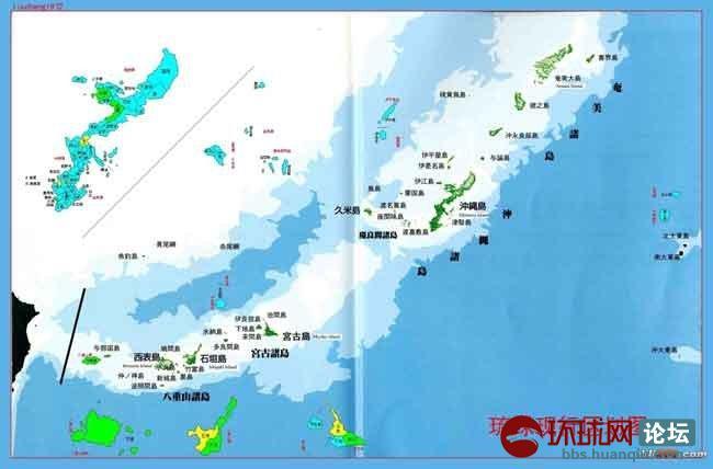原琉球国包括琉球群岛中的先岛诸岛