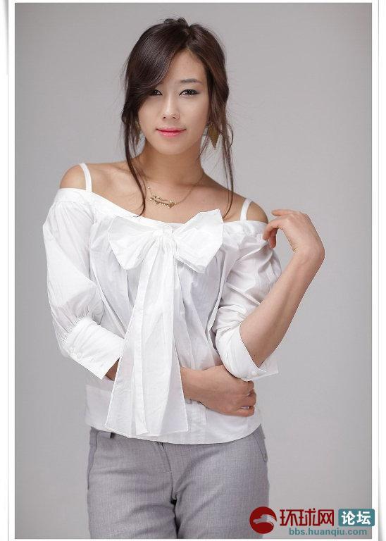 迷人漂亮的韩国美女