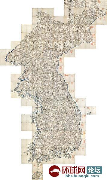 清后期中国地图