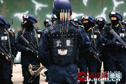 泄:中国反恐特种作战已得以色列真传