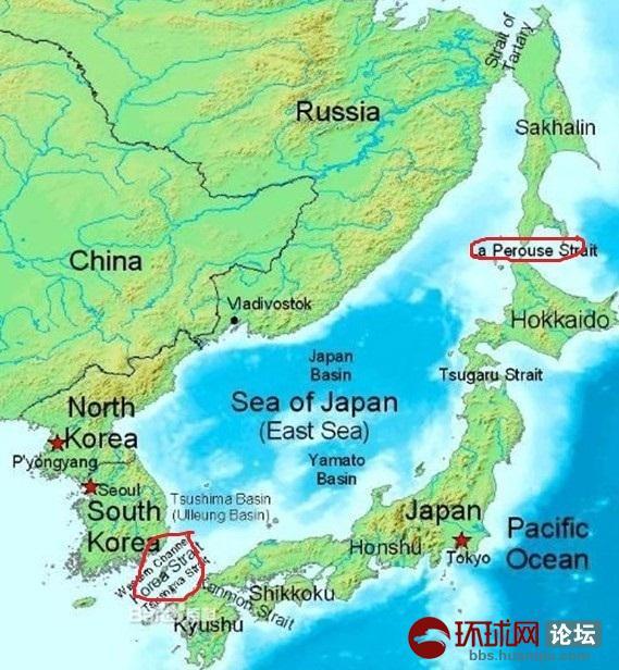 琉球群岛地形图