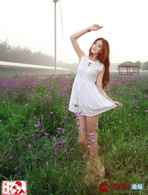 淘醉与大自然的清新 花的芬芳! 天下美女
