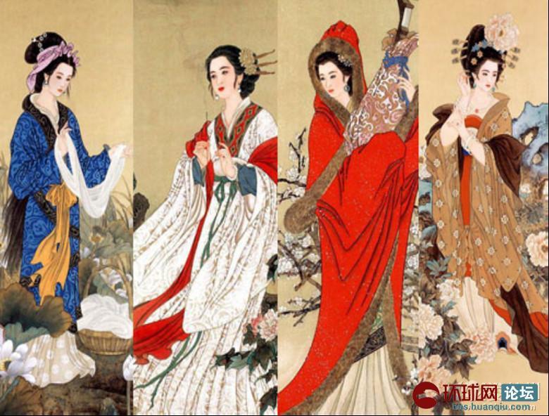 中国古代传统女性服饰云想衣裳花想容 历史