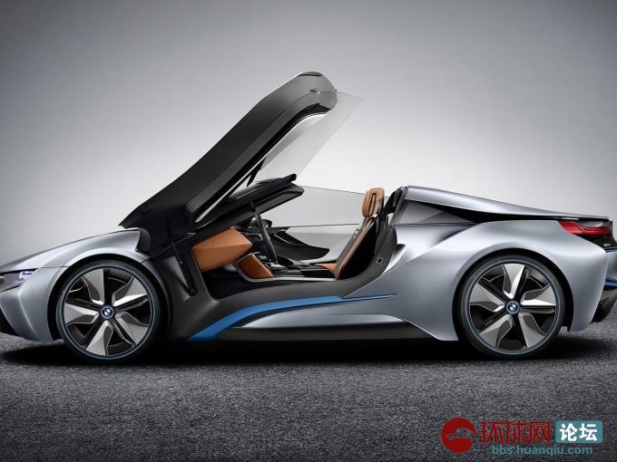 混合动力宝马i8概念车 高清图片