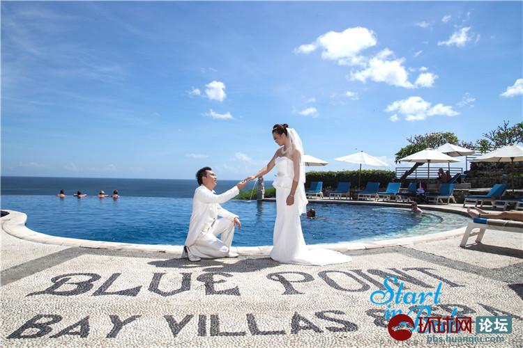 我们巴厘岛婚纱之旅
