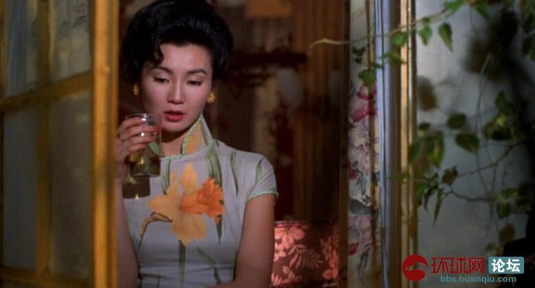 花样年华,张曼玉旗袍照,美翻了