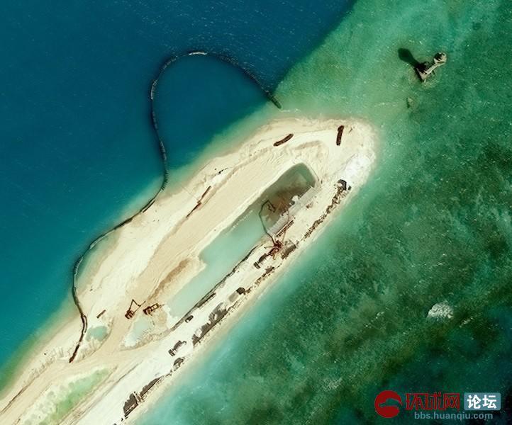 难得一见:永暑岛超高清大图