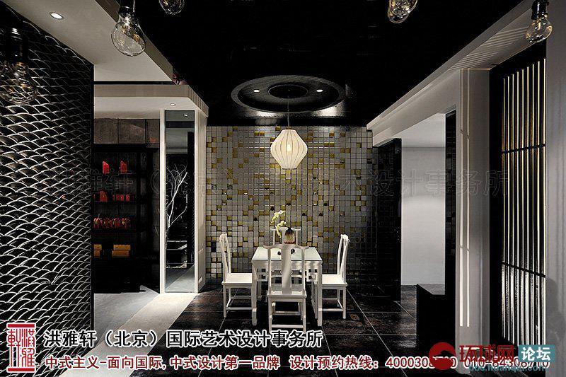 现代新中式茶楼设计图片-包间装修效果图-新中式茶楼装修设计,体现