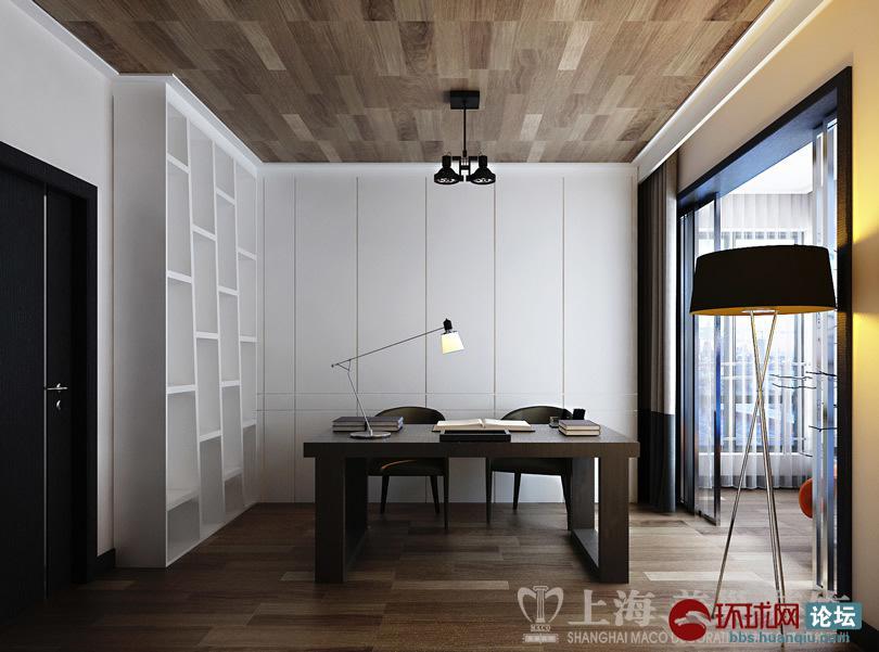 方三室两厅现代简约风格样板间装修效果图