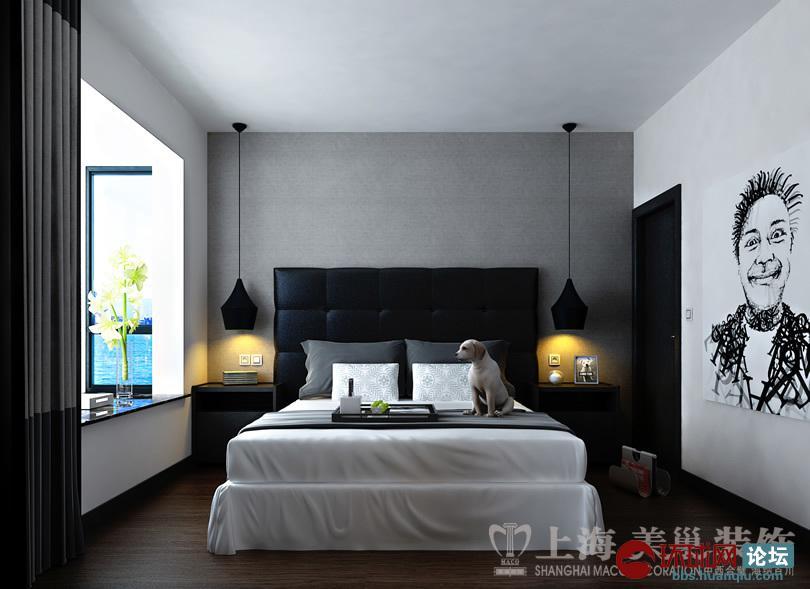 正商明钻89平方三室两厅现代简约风格样板间装修效果图