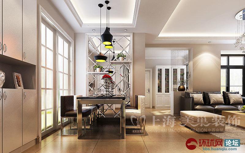 普罗旺世1号楼88平三室两厅现代简约风格装修效果图高清图片