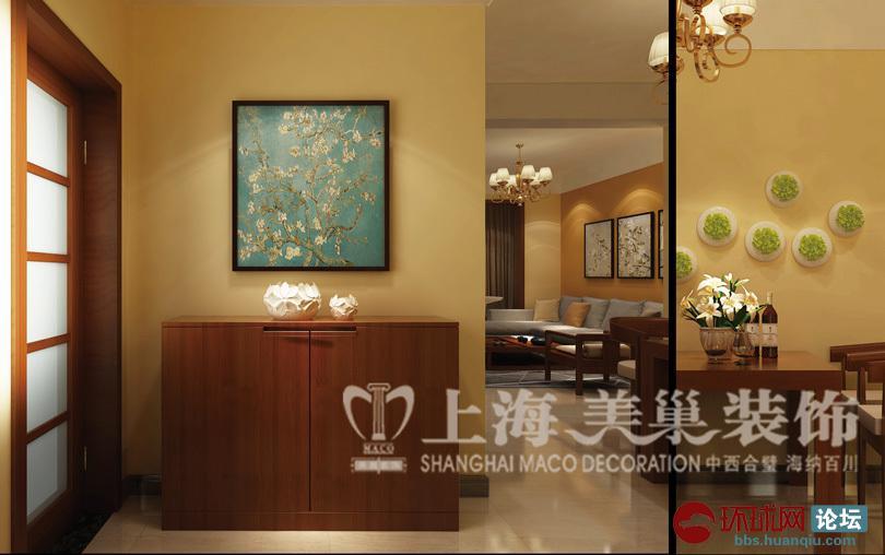 中式家居案例 86平装修效果图