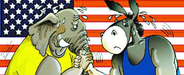 """从""""驴象""""之争 看美国民众的制度迷茫"""
