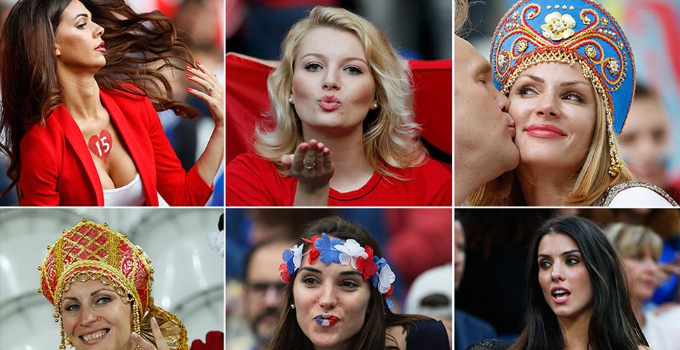 欧洲杯美女球迷大比拼