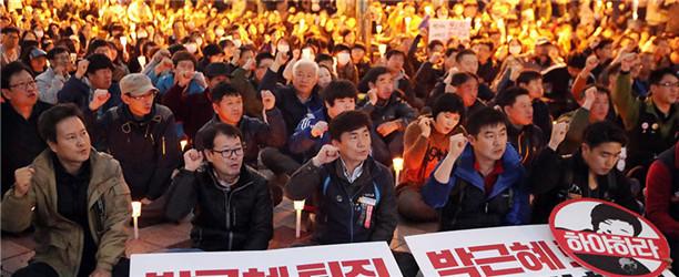 百万人示威会让朴槿惠下台吗?