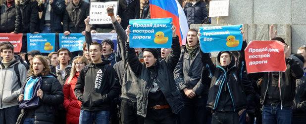 俄反对派PK普京政权 无异于以卵击石
