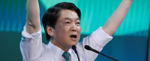 """东施效鼙 安哲秀竟自诩""""韩国奥巴马"""""""