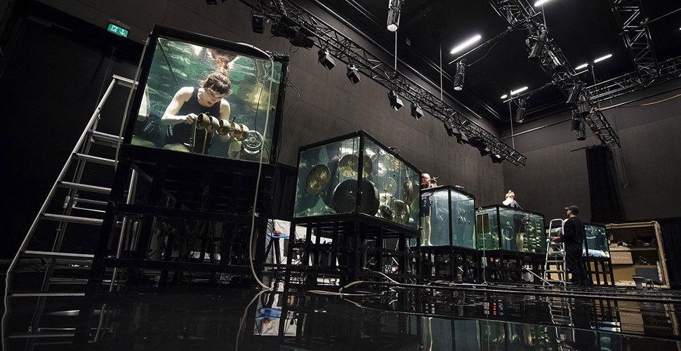 全球首支水下乐队将举行演唱会 造型炫酷