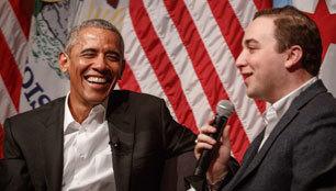"""奥巴马卸任后首次演讲是为""""干政""""?"""