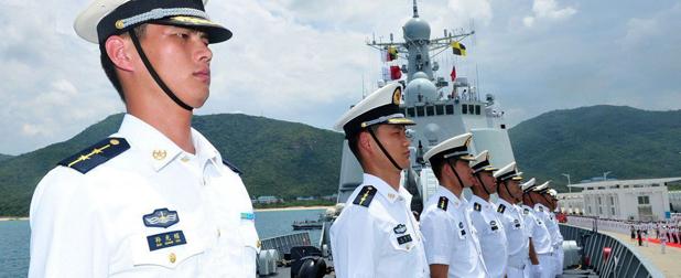 中国海军,注定要走向深蓝