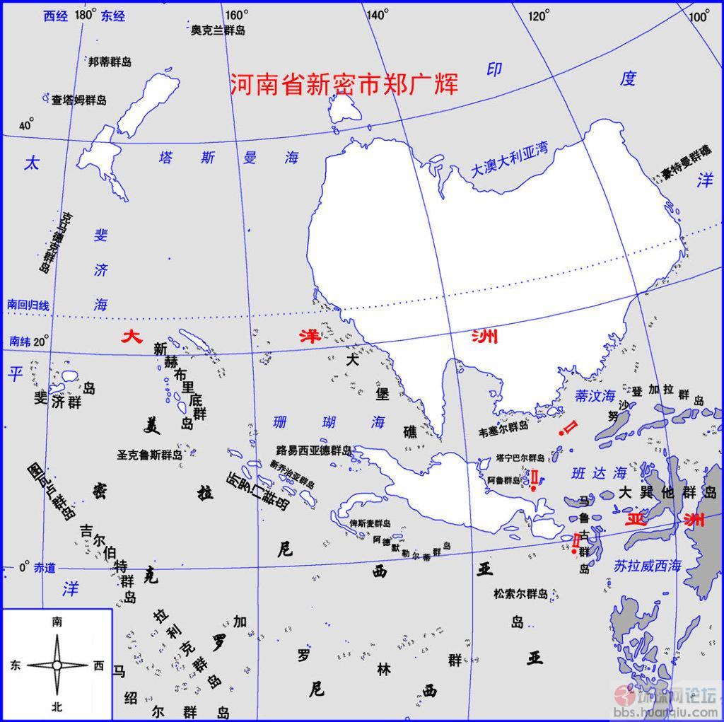 俾斯麦群岛地图