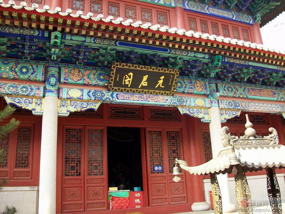 实拍:参观全真教第二丛林--青岛崂山太清宫