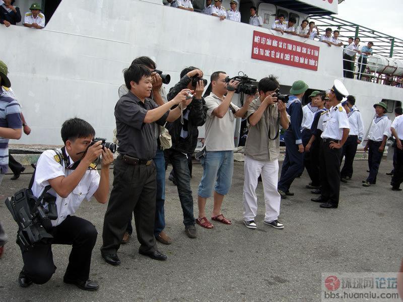 越南慰问侵占我南威岛的官兵并列行驻军换防 - 汉子 - 汉子的博客