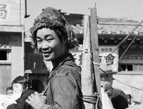 1951年美韩攻占后汉城