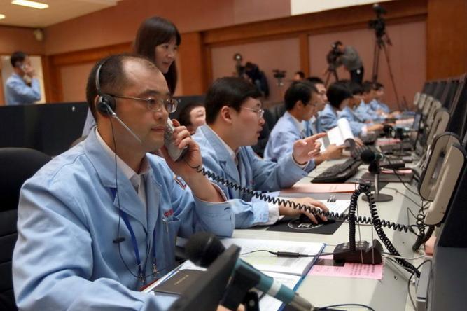 北京航天飞控中心准备就绪