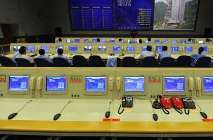 实拍西昌卫星发射中心指控大厅