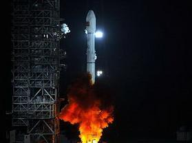 嫦娥二号准时发射