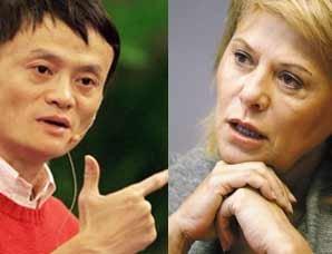 阿里巴巴控制权之争:马云和一个女人明争暗斗
