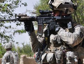 生死一线!记者与驻阿美军101空降师零距离(上)