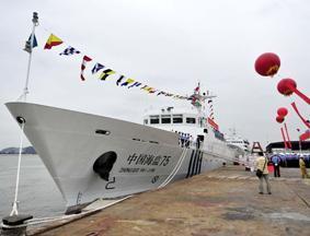 中国最快海监执法船装备南海总队