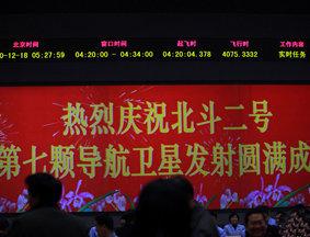 中国第7颗北斗导航卫星在西昌成功发射升空