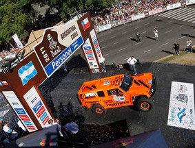 2011达喀尔拉力赛发车仪式