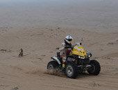 第九赛段:摩托车组实拍