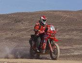 第十赛段:摩托车组瞬间