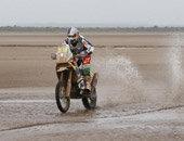第十二赛段:摩托车组实拍