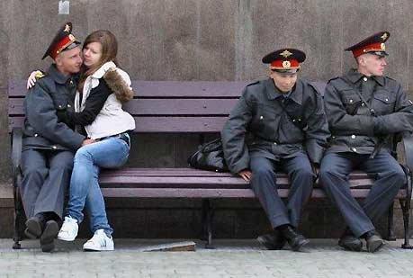 超滑稽的俄罗斯警察众生相