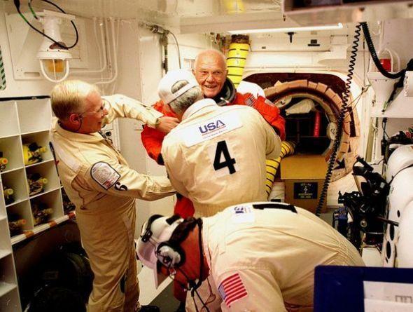 年龄最大的宇航员