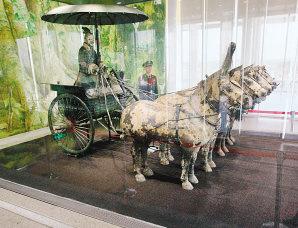 秦陵一号铜车马