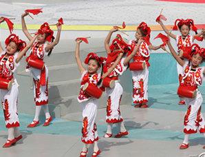 文艺表演舞蹈:《延河喊春》