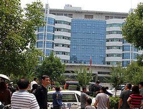 抚州市检察院爆炸现场
